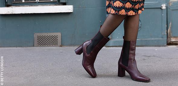 Trendige Boots